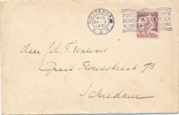 Nederland - 1931 - 6 Cent Kinderzegel Op Brief Van Rotterdam Naar Schiedam - Brieven En Documenten