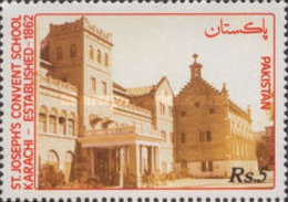 USED  STAMPS Pakistan - The 130th Anniversary Of St. Joseph's Convent School - 1991 - Pakistan