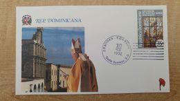 Visite Du Pape Jean-Paul II - SAINT DOMINGUE - FDC