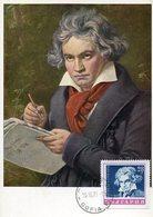 41464 Bulgaria, Maximum  1970 Music Composer Ludwig Beethoven - Musique