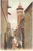 POSTAL   TUNIS (TUNEZ)  AFRICA  -RUE DE LA KASBAH - Túnez