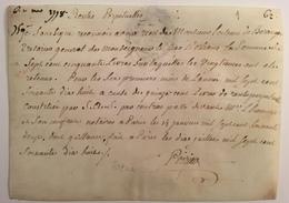 Quittance à Loiseau De Béranger. Trésorier Du Duc D'Orléans Pour Futur Guillotiné. Rente Perpétuelle. 1778. - Historical Documents