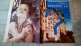 Revue Vu 1937 Valescure Blum L'allemagne Au Maroc Espagne Brigade Internationale Valloires Baleines  Politique - Books, Magazines, Comics