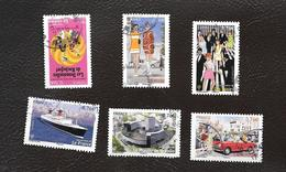 TIMBRES .. OBLITERATION RONDE...annee 2015... ANNEE  60.... N°4960/4965...BE. SCAN - France