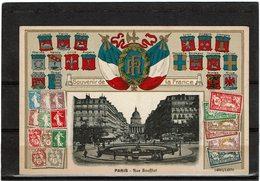 "CTN55 - FRANCE PSEUDO EP ""SOUVENIR DE LA FRANCE"" NEUF - Postal Stamped Stationery"