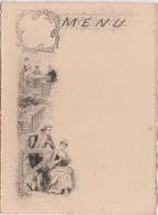 """Menu  """"La Cour"""" / Illustrateur Style Greux - Menus"""