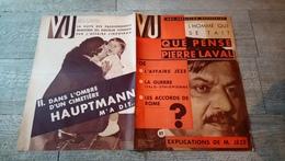 Revue Vu 1936 Pierre Laval Jèze Silicose à Washington Cafés De Paris Lindberg Hauptmann Condon Espagne Politique - Books, Magazines, Comics