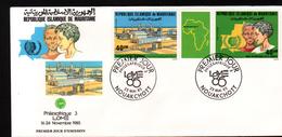 Mauritanie,1985, PHILEXAFRIQUE III,. INTERNATIONAL PHILATELIC EXHIBITION - Mauritanie (1960-...)