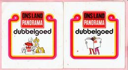Sticker - ONS LAND - PANORAMA - Dubbelgoed - 2 Stuks - Autocollants