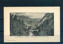 REUNION : Ile De La Réunion - SALAZIE - Pont De Savanne, Sur La Rivière Du Mât (cpa 28) - Réunion