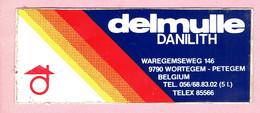 Sticker - Delmulle - DANILITH - Waregemseweg Wortegem-Petegem - Autocollants