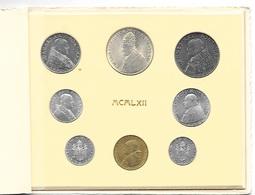 VATICANO 1962 - DIVISIONALE Monete ANNO IV CONCILIO ECUMENICO VATICANO II -  In Confez.  FDC - Vaticano