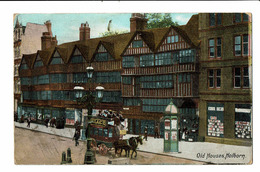 CPA - Carte Postale Royaume Uni - Holborn - Old Houses -1908 -S4942 - Other