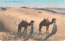 POSTAL   TUNIS (TUNEZ)  AFRICA  - PASSAGE DES DUNES - Túnez