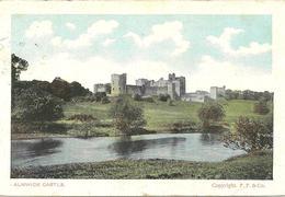 ALNWICK CASTLE - NORTHUMBERLAND WITH WALLSEND SKELETON POSTMARK 1907 - Other