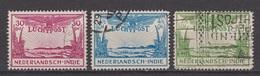 Nederlands Indie Dutch Indies Luchtpost 14-16 MLH ; Flugzeug, Avion, Vliegtuig, Aeroplane, Airplane 1931 - Vliegtuigen