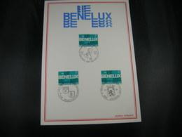 """BELG.1974 1723 FDC Filatelia Card  """"BENELUX 1944-1974"""" """" - FDC"""