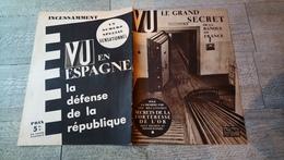 Revue Vu 1936 Banque De France Enquête Sur La Tchécoslovaquie Disparus Du Front D'artois Ww1 Guerre Politique - Books, Magazines, Comics