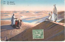 POSTAL   TUNIS (TUNEZ)  AFRICA  - AU DÉSERT - Túnez