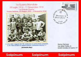 ANNULLO RICORDIAMO LA GRANDE GUERRA - LAVENA PONTE TRESA - 6. 1946-.. República