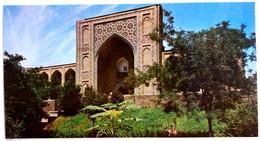 #7  Kukeldash Madrassah - UZBEKISTAN - Postcard 1980 - Uzbekistan