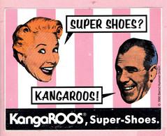 Sticker - KANGAROOS - Super-Shoes - 1990 - Autocollants