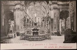 Ak Italien - Abtei Montecassino - Kirche,church,Eglise - Innenaufnahme - Churches & Convents