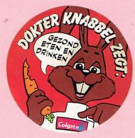 Sticker - DOKTER KNABBEL ZEGT: - Gezond Eten En Drinken - Colgate - Autocollants