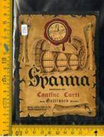 Etichetta Vino Liquore Spanna Curti Gattinara - Altri