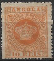 Angola – 1870 Crown Type 10 Réis - Angola