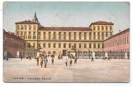 TORINO - PALAZZO REALE - 1914 - Colorisée - Palazzo Reale