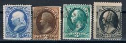 USA, 1873, Used - 1847-99 Emissions Générales