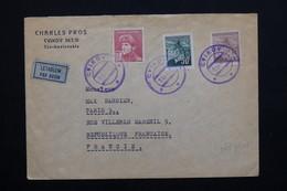 TCHÉCOSLOVAQUIE - Enveloppe Par Avion De Cvikov Pour La France En 1945  -  L 21013 - Czechoslovakia