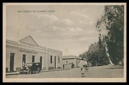 HUAMBO -  HOTEIS E RESTAURANTES - Uma Avenida De Huambo ( Ed.  Arturo Gonzalez Alonso) Carte Postale - Angola