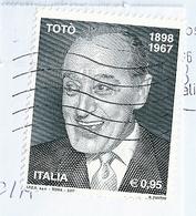 2017 TOTO' ANNIVERSARIO MORTE USATO - 6. 1946-.. Repubblica