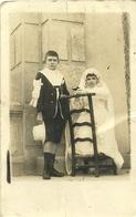 ( CARTE PHOTO )(ENFANTS  )(AIN REGADA )( ALGERIE )( 1921 ) - Lieux