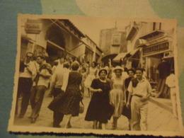 Foto  CAPRI   ANIMATA  Con Insegne CALZOLERIA, KODAK  1959 - Personnes Anonymes