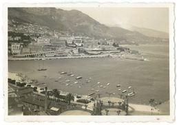 Photos Des Années 30 : Deux Vues Générales De Monte-Carlo - Lieux