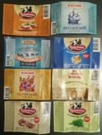 Ukraine. Cheese Cream Labels. 24 Pcs. - Fromage
