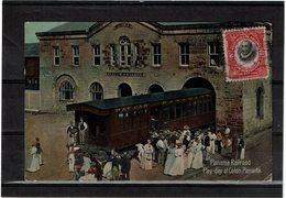 """CTN55 - PANAMA CPA """"PANAMA RAILROAD PAY-DAY AT COLON"""" CIRCULEE MAY 1912 - Panama"""