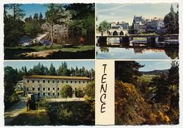 CPSM - TENCE (Haute Loire) - Levée Des Frères, Quartier Du Pont, Colonie Des Sapins, Village De Vacances. - France