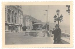 Monte-Carlo, Années 30 : En Face Du Casino - Lieux