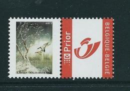 Duostamps Buzin  Solidarité   (**) - 1985-.. Oiseaux (Buzin)