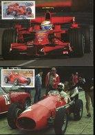 41468- Bulgaria,  2 Maximum 2008,  Auto Racing  Ferrari  Of 2006 And 1952 - Cars