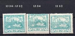 CZECHOSLOVAKIA  1918+ , MH  ,  HRADCANY 20H - Tchécoslovaquie