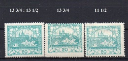CZECHOSLOVAKIA  1918+ , MH  ,  HRADCANY 20H - Czechoslovakia