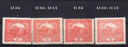 CZECHOSLOVAKIA  1918+ , MH  ,  HRADCANY 15H - Czechoslovakia