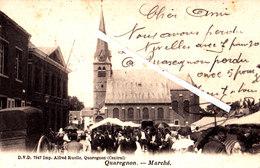 QUAREGNON - Marché - Juste Devant L'ancienne Eglise, Très Animée - Quaregnon
