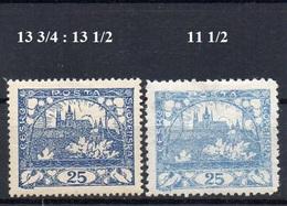 CZECHOSLOVAKIA  1918+ , MH  ,  HRADCANY 25H - Czechoslovakia