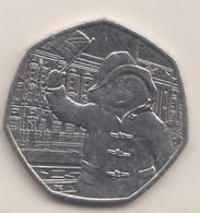 2018 50p - - 50 Pence